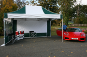 3m x 4.5m Industrial Pro 50+ Pop Up Gazebo (Inc Frame + Top + Side Walls)
